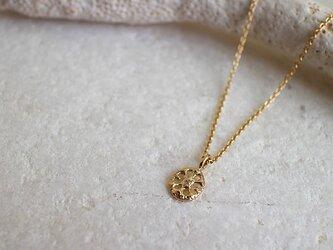 【受注生産】【送料無料】しずく型ダイヤモンド一粒ネックレス【n_k14_01_0002】の画像