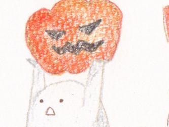 ハロウィン ポストカードの画像