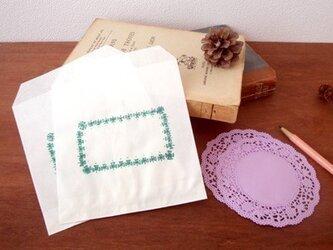 レース便箋&封筒セット(2種類・B)の画像