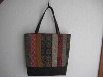 着物地のバッグの画像