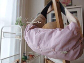 抱っこ紐収納カバー 無地(ピンク)の画像
