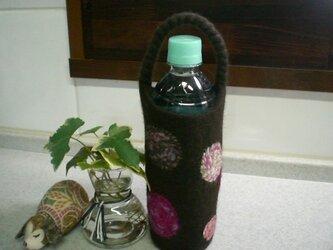 J.様ご予約品 ボトルホルダー(ダークブラウン)の画像