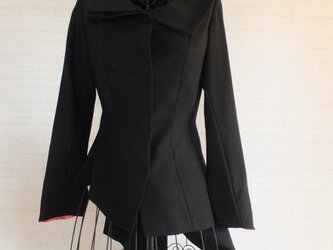 *ハロウィンにイレギュラー裾比翼ジャケット*の画像