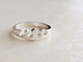 [silver]プリンセスリングの画像