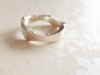 [silver]波音リングの画像