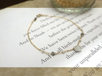simple ・・bracelet・・r 14kgfの画像