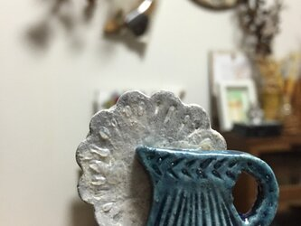 花瓶にお花✳︎ブローチの画像