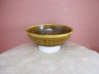 陶器ご飯茶碗(中)薄いそば釉の画像