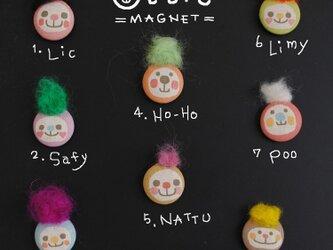 −ottie− くるみボタンのマグネット 1匹の画像