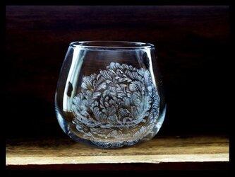 グラス--芍薬の画像