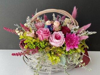 敬老の日プレゼント Autumn basketの画像