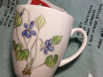 『北欧風 パンジー』のマグカップの画像