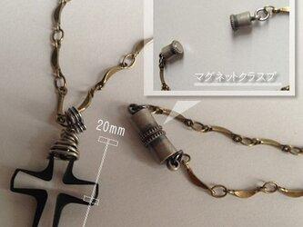 送料無料|スワロフスキー使用|十字架ネックレスの画像