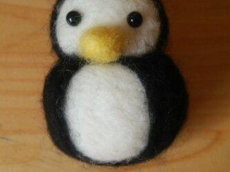 ペンギンブローチの画像