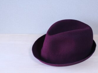 折りたためる帽子59cm[wool]の画像