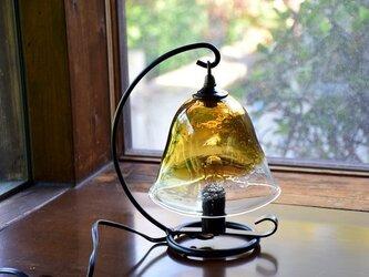 ランプ~気泡入りブラウン~の画像
