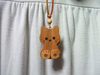 子猫のペンダントの画像