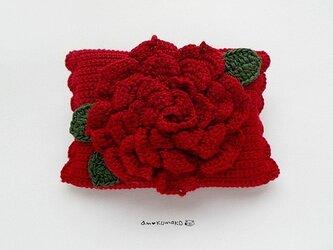 薔薇のティッシュケースの画像