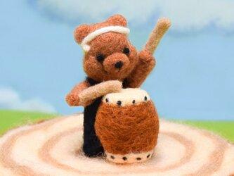 コグマさんが演奏するトントコ和太鼓の画像