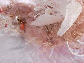 【パリ発送】 ラリエット 花の妖精/ウエディング花飾りの画像