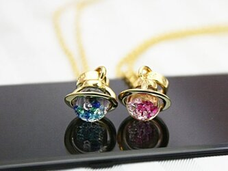 Saturn Baby Pendant Gold Colorの画像