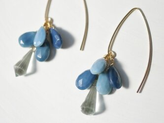 Owyhee Blue Opal*Pierceの画像