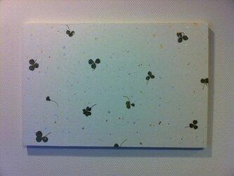 和紙壁がけボード・くろーばーの画像