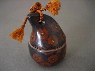 トリ・陶の小箱 「あ・うん-B」 陶芸家オリジナル陶器(4)の画像