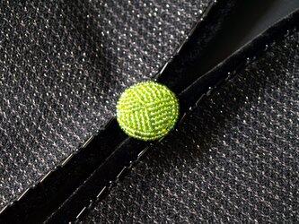 くるみボタン グリーン3の画像