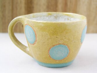 マグカップ (大きな水玉模様)の画像