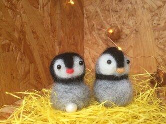 縁起物・幸せの子宝ペンギンの画像
