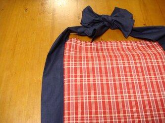 着物生地でエコバッグ♪ ~綿つむぎと金巾から~の画像