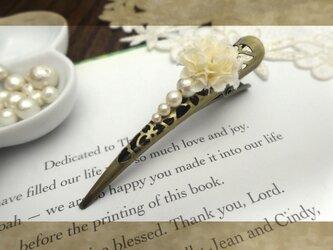 petal ヘアクリップ ミニの画像