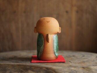 お地蔵様(茶)の画像