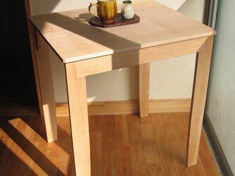 ひだまりカフェテーブル・・キリンのようにスマートの画像