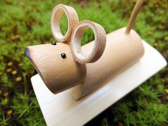 竹細工~干支・ねずみの画像