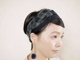 patchwork turban b (woolmix 16AW)の画像