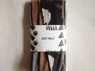 patchwork turban d (cotton×linen mix 16AW)の画像