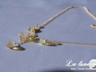 シトリンブリオのネックレスの画像