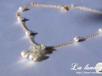 あこや真珠のネックレスの画像
