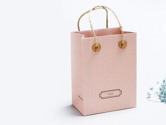 Sweet 桜) 気持ちを伝える 小さな 手提げ ギフトバックの画像