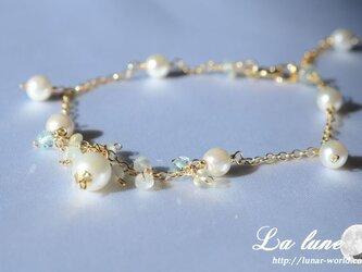 あこや真珠(ホワイト)ブレスレットの画像