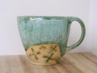 水差し花瓶 (花と葉っぱ)の画像