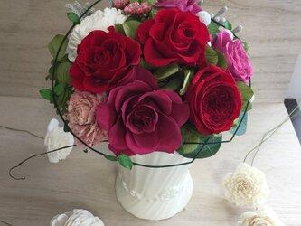 elegant rose 〜プリザーブドフラワーの画像