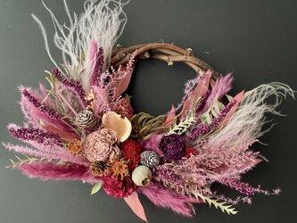 Autumn natural wreathの画像