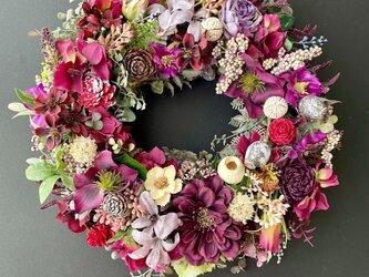 Autumn Cosmos wreath IIの画像