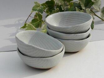 しましまの豆小鉢の画像