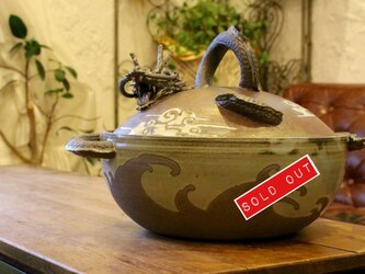 龍の土鍋の画像
