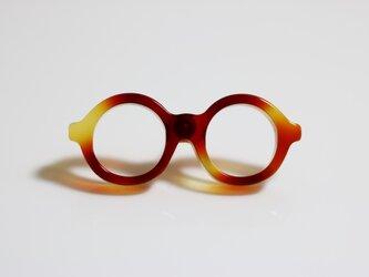 メガネラぺルピン(丸、Sサイズ、長針、ブラウン1)の画像