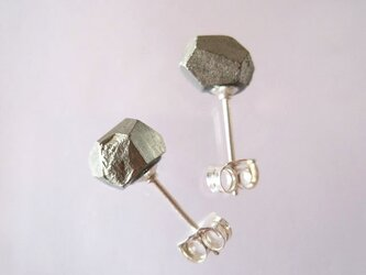 パイライトの原石ピアス/Pyrite [SV925]の画像